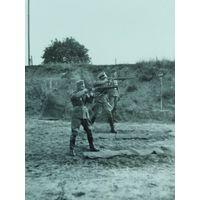 Немецкие офицеры в тире с 1 руб. без м.ц.