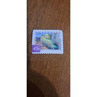 Австралия 2001. Попугаи. Марка из серии