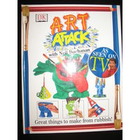 Art Attack, книга поделок на английском