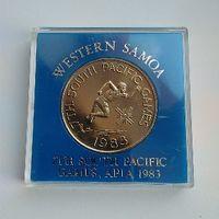 1 dollar Samoa 1983 Pacific games