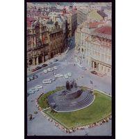 1975 год Чехословакия Прага Староместская площадь