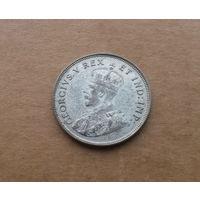 Британская Восточная Африка, 1 шиллинг 1925 г., биллон, Георг V (1910-1925)