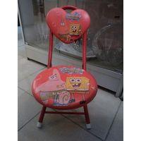 Складной стульчик для малыша
