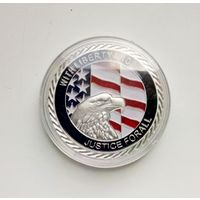 Монетовидный жетон 11 сентября