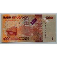 Уганда 1000 Шиллингов 2017, XF, 705