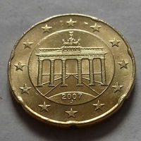 20 евроцентов, Германия 2007 J