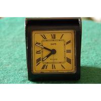 Часы дорожные Заря  ( будильник )   все работает