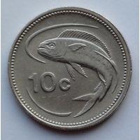 Мальта 10 центов. 1995