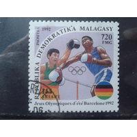 Магадаскар 1992 Бокс