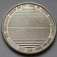 Швеция, 1 крона 2009 г. (200 лет разделению Финляндии и Швеции),юбилейная