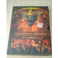 2DVD Gamma Ray - Hell Yeah!!! The Awesome Foursome - Live In Montreal