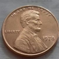 1 цент США 1978, 1978 D