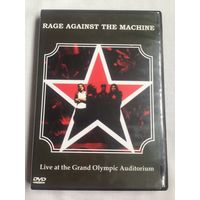 РАСПРОДАЖА DVD! RAGE AGAINST THE MACHINE - LIVE AT THE GRAND OLYMPIC AUDITORIUM