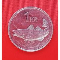 60-27 Исландия, 1 крона 1999 г.
