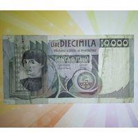 Италия 10000 лир 1980г