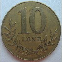 Албания 10 лек 1996 г. (d)