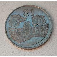 Зимбабве 1 доллар, 1980 1-14-21