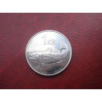 1 крона 2005 год Исландия