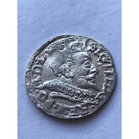 3 гроша 1593г (Литва)