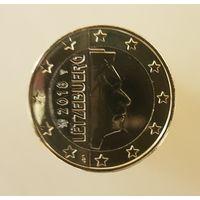 Люксембург 1 евро 2018 г. UNC!