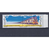 [199] Мавритания 1971. Поезда,локомотивы. MNH