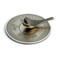 "RARE Награда! Аналогов нет! Кот-Д'Ивуар 1500 франков 2010г. Комплект: ""Компас на Мекку"". Монета в капсуле; деревянном подарочном футляре; сертификат; коробка. СЕРЕБРО 40гр."