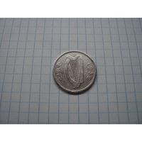 Ирландия 1 шиллинг 1939, серебро