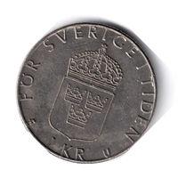 Швеция. 1 крона. 1980 г.
