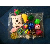 Набор игрушек для кота/собаки . 14 шт