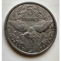 Новая Каледония 5 франков, 1952 3-1-20