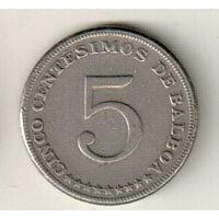 Панама 5 сентесимо 1970