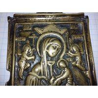 Икона из старообрядческого бронзового складня.