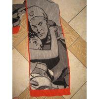 Шелковый шарф с принтом