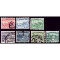 7 марок 1961 год Пакистан 137,139,142-143,147,а183
