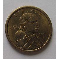 1 доллар. 2000 г. Сакагавея
