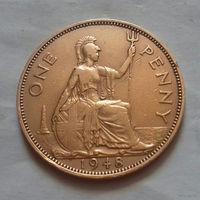 1 пенни, Великобритания 1948 г., Георг VI