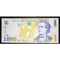 РАСПРОДАЖА С 1 РУБЛЯ!!! Румыния 1000 лей 1998 год UNC