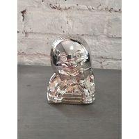 Винтаж серебрение подарок ребенку Бамбино Посеребренная Копилка