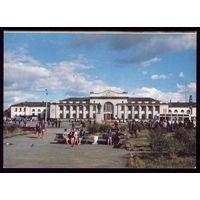 1982 год Котлас Железнодорожный вокзал