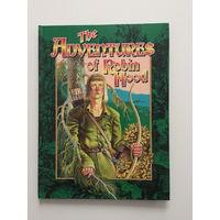"""Книга для детей на английском языке """"Приключения Робин Гуда"""""""