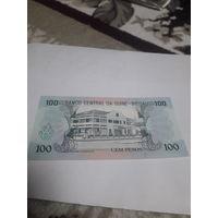 ГВИНЕЯ- БИССАУ 100 песо 1990 год