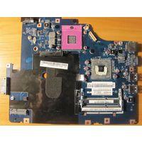 Материнская плата Lenovo G560e Motherboard - LA-7012P Intel рабочая
