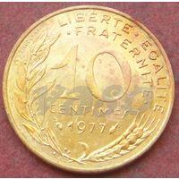 6424:  10 сантимов 1977 Франция