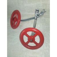 Приставные колёса для детского велосипеда СССР