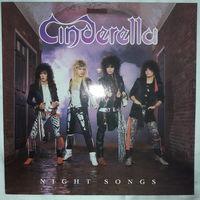 CINDERELLA - 1986 - NIGHT SONGS, (HOLLAND), LP