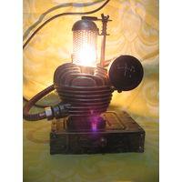 Светильник ночник в стиле дизельпанк стимпанк индастриал лофт (1)