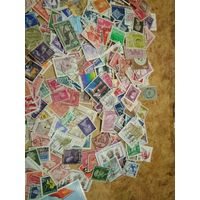 Отличный лот марок 500 штук(лот9),старт с 1 руб
