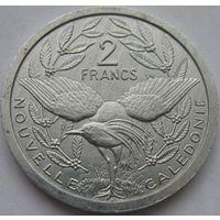 1к Новая Каледония 2 франка 2006 В ХОЛДЕРЕ распродажа коллекции