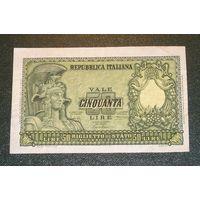 Италия, 50 Лир 1951