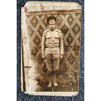 Фото военного. 1919 г. 8.5х14 см